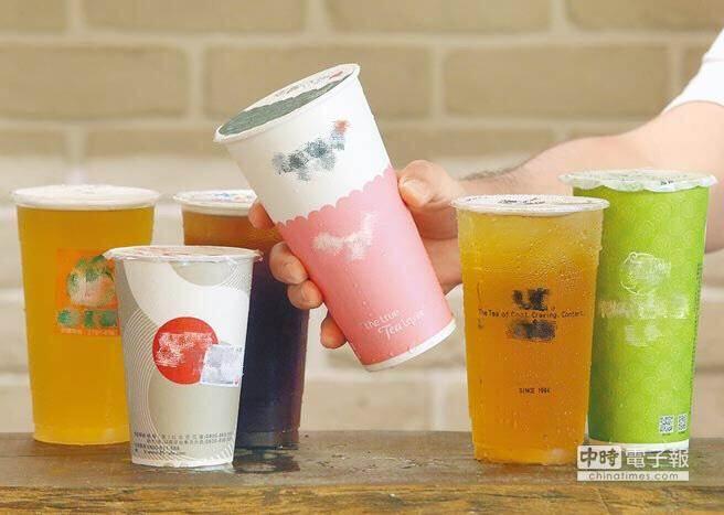 「這一杯」少碰?茶廠業者揭手搖茶的5大秘密。(市售手搖杯示意圖/本報系資料照)