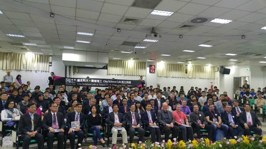 台北科技大學和國際頂尖名校麻省理工學院攜手,成立台灣首座共同實驗室「都市科技實驗室」。(北科大提供)