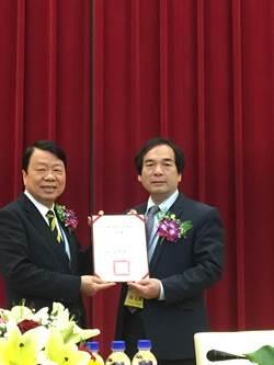 友嘉總裁朱志洋獲頒勤益科技大學榮譽教授聘書
