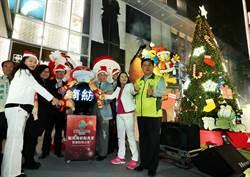 南紡集團的南紡購物中心慶耶誕作公益