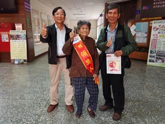 活到老奉獻到老! 93歲嬤獲南市最高齡志工獎