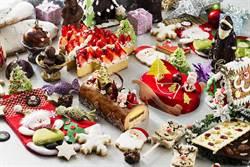台北遠東耶誕甜點超美 玲瑯滿目就像走入童話世界