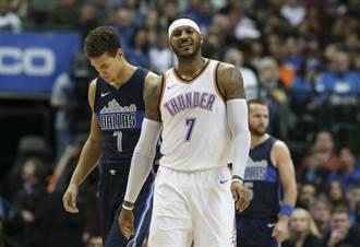 NBA》名人堂級巨星呼籲 安森尼見好就收退休吧