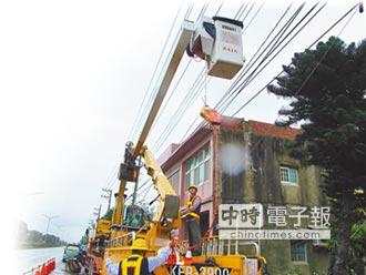 電纜地下化 颱風不怕停電