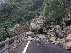 宜蘭大雨不斷  蘇花公路再傳坍方災情中斷交通
