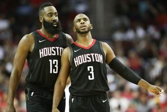 NBA》火箭痛宰湖人奪7連勝 周琦持續缺陣
