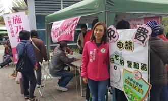 竹市議員施乃如 推出菜市場行動服務站