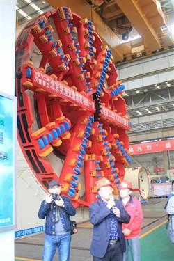 打破日本30餘年壟斷 陸潛盾機投入北捷工程