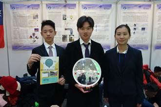 韓國首爾國際發明展 最年輕金牌得主普台高中生