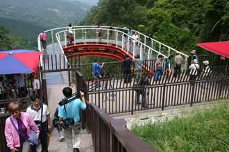 中寮天空步道仿美國大峽谷天空步道設計 歡迎遊客來試膽