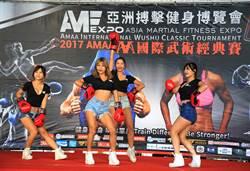 亞洲首次結合武術賽事+搏擊健身博覽會8日麗寶福容飯店登場