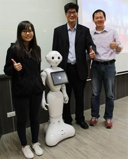 數位文憑機器人理財 第一科展示新技術