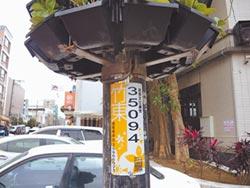 竹東路燈有身分證e指報修