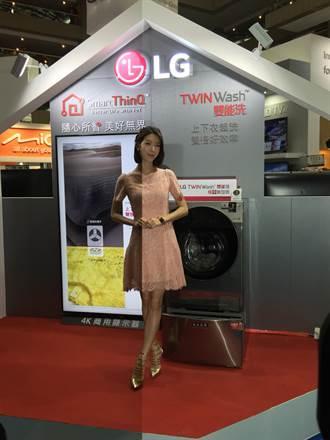 LG為穩坐台灣滾筒洗衣機市場龍頭 找女星宋米蓁站台