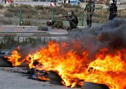 抗議川普 以色列佔領區爆衝突數十人傷