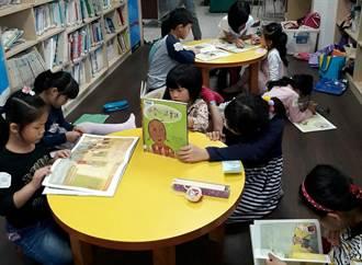台南海東國小推遊戲閱讀 學童讀書更有趣