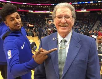 NBA》好闊氣!麥基把身上金鍊直接送球評