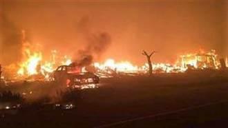 加州野火延燒 好萊塢名人豪宅受威脅