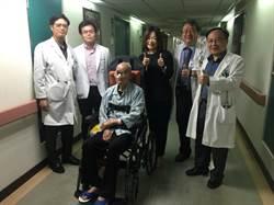 9旬老翁跌倒顱內出血 南投醫院搶救成功