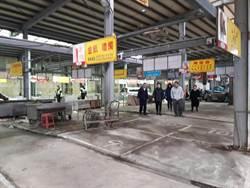 南榮市場沒落生意差 議員促輔導攤販轉型