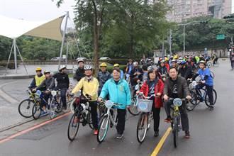 竹林中學自行車成年禮300人浩蕩出發