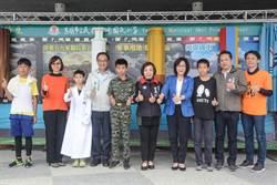 高市河堤國小校慶 李昆澤宣布體育館設備預算有望