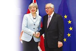 英歐達成分手協議 貿易協定談判啟動