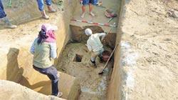 舊營橋下游發現甕棺遺址