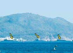 神隱三亞094核潛艦全部離港