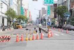 中正路人行道景觀工程引民怨 2個半月工期急改2周內完工