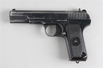 黑星手槍前身 二戰時蘇聯紅軍的TT手槍