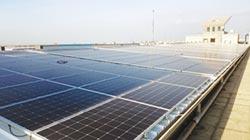園區公有建築物屋頂設置太陽光電發電設備 加工區 打造低碳綠能環境