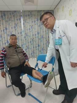 農開堆高機壓傷小腿 延誤就醫險截肢