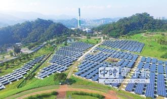 台北能源之丘 綠能發電達標