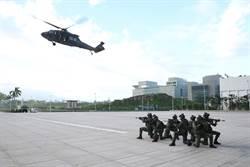圖輯》黑鷹直升機降落國防部 特戰小組反特攻操演