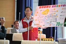 市議員陳清龍細數建設打造豐原城市新品牌