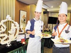 上海烹飪賽 正修餐飲奪2銀2銅