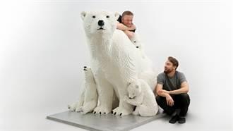 大動物奇蹟!全球第一座完整打造的1:1的真實比例樂高積木大型動物園