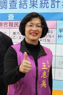 國民黨初選王惠美勝出 和魏明谷爭彰化縣長