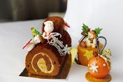 裕元花園酒店耶誕甜點 超吸睛