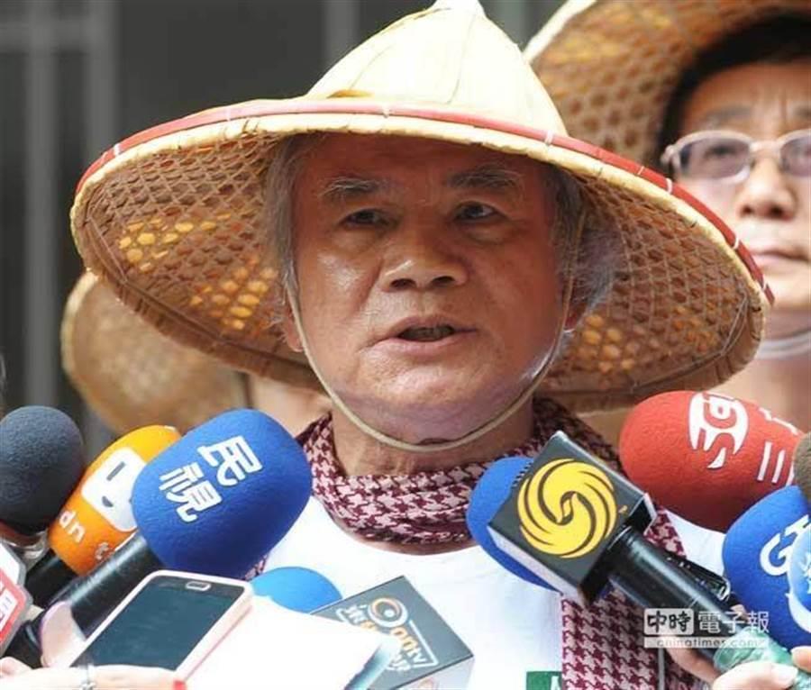 民進黨前主席林義雄。(本報系資料照片)