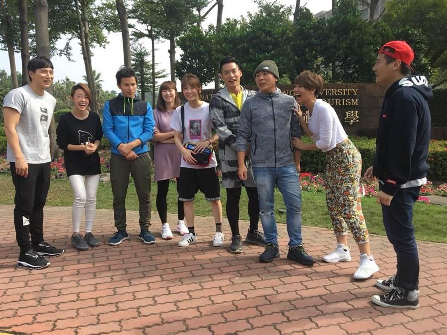 小煜睽違8年上綜藝節目玩遊戲。(圖片提供:中視)