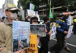台中反空汙遊行  減煤救健康、節電救台灣!