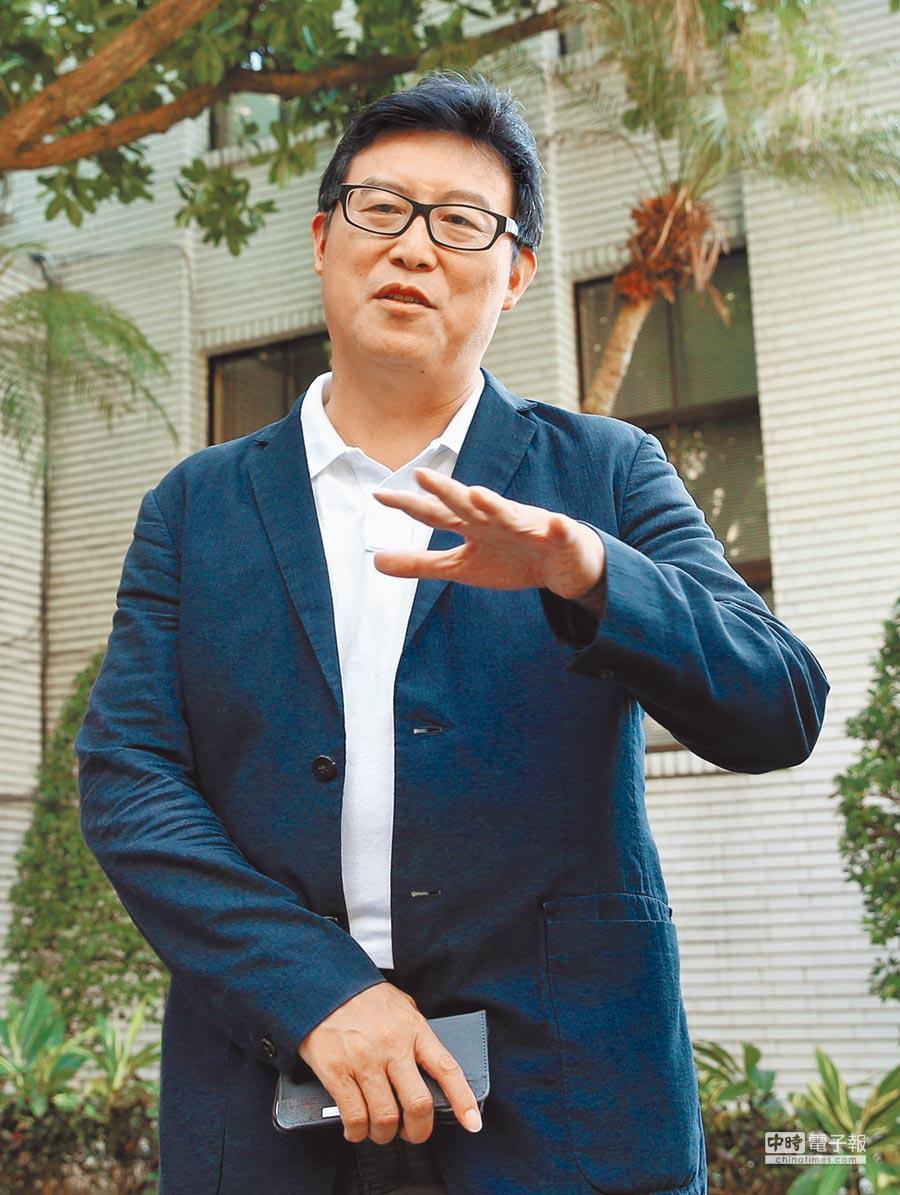 民進黨立委姚文智今天將宣布參選2018台北市長選舉。(本報資料照片)