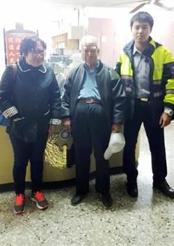 8旬翁坐車出遊走失 行走數公里被警尋獲
