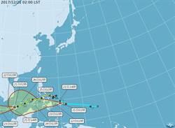 27號颱風「天秤」今生成 同樣向西走