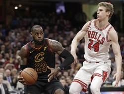 NBA》不認輸都不行!詹姆斯斬斷公牛7連勝