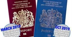 脫歐後紫紅護照掰 英將重拾傳統藍護照
