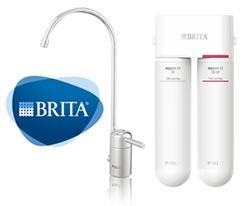 BRITA超微濾菌櫥下濾水系統 三重高階濾淨 免煮即飲