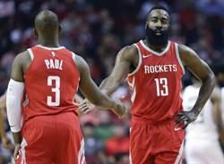 NBA》進攻勝勇士騎士 保羅:在火箭打球94爽